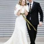 novia y el novio junto — Foto de Stock