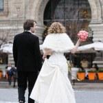 novia y novio — Foto de Stock   #10501295