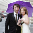 Wedding couple — Stock Photo #10692879