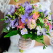 Beautiful wedding flowers bouquet — Stock Photo #9193568