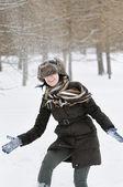 Happy winter — Stock Photo