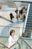 In shopping mall/center — Stock Photo