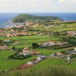 View on village in Azores — Stock Photo
