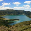 Lake on Azores — Stock Photo