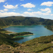 Stock Photo: Lake on Azores