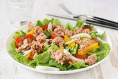 Salad with tuna — Stock Photo