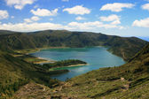 Lago su Azzorre — Foto Stock