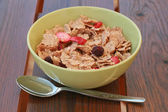 Cereals with dry fruits — Stock Photo