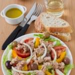 Salad with tuna — Stock Photo #8416335