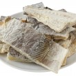Salted codfish — Stock Photo