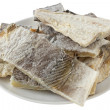 Stock Photo: Salted codfish