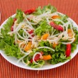 Salad with bean sprouts - Stock Photo