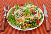 Salad with bean sprouts — Stock Photo