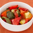 Grilled vegetables in bowl — Stock Photo #9952403