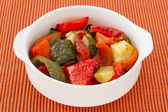 Grilled vegetables in the bowl — Stock Photo