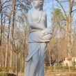 Beautiful statue in the Bucha park, Ukraine — Stock Photo
