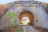 Gates dans forteresse de kertch, en crimée — Photo