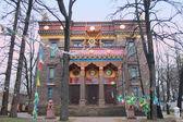 Saint-Petersburg Buddhist Temple Gunzechojnej — Stock Photo