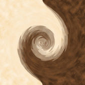 Swirl soft chocolate background — Stock Photo