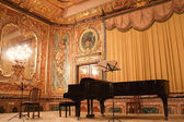 Concert grand piano in the Polovtsov mansion - Architect's house — Stock Photo