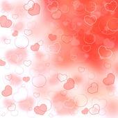 心でバレンタインデーの背景 — ストック写真