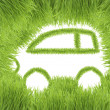 Concept of the eco-friendly car — Stock Photo #8683807