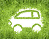 Concept of the eco-friendly car — Stock Photo
