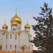 Stock Photo: Temple of KazMother of God, Almetyevsk, in Republic of Ta