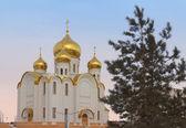 Tempel av kazan fostrar av gud, almetyevsk, i republiken ta — Stockfoto