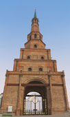 The Soyembika tower in the Kazan Kremlin, Russia — Stock Photo