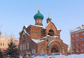 Church in honor of the Kazan icon of the Mother of God (Old Beli — Stock Photo