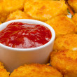 Stock Photo: Chicken nuggets