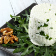 Italian goat cheese — Stock Photo