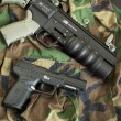 Stock Photo: Handgun and HAVOC Launcher