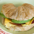 Croissant Breakfast Sandwich — Stock Photo #10622757