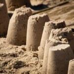Sand Castles — Stock Photo