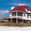 Stock Photo: Beach Houses