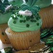 St. Patrick's Day Cupcake — Stock Photo #9538548