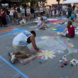 Chalk Art Festival — Stock Photo #9586191