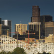 Mile High City of Denver by night — Stock Photo #9588298