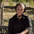 Amish Girl — Stock Photo