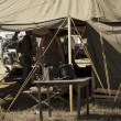 MIlitary Camp — Stock Photo
