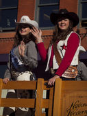 Cowgirls — Stock Photo