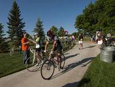 Bisiklet yarışı — Stok fotoğraf