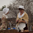 Revolutionary War Reenactment — Foto Stock