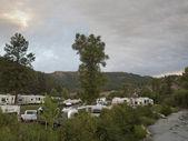 RV Camping — Stock Photo