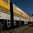 Stock Photo: Yellow Train