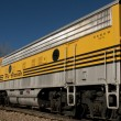 Yellow Train — Stockfoto