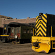 Stock Photo: Yellow Locomotive