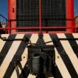 Stock Photo: Red Locomotive